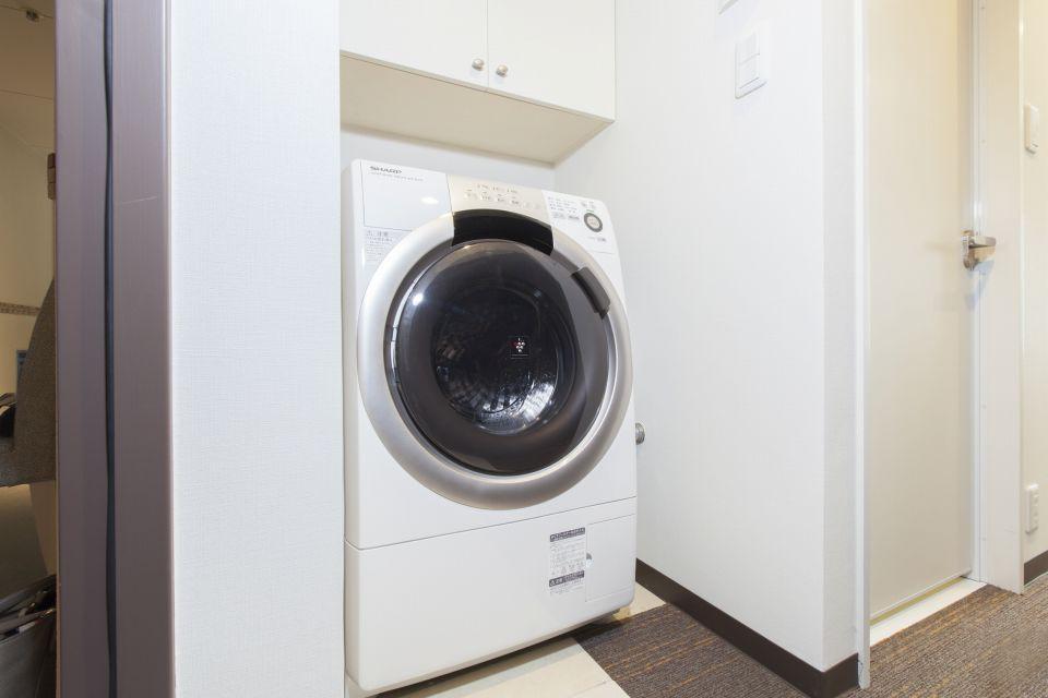 ★全室洗濯乾燥機・電子レンジ完備!