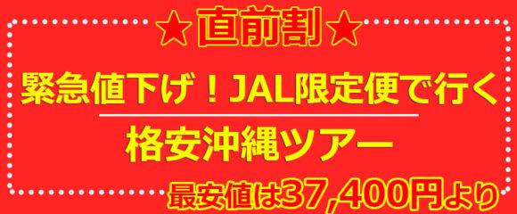 ≪★直前割★≫北海道発 ▼ JAL新千歳空港発限定!沖縄 ツアー▼