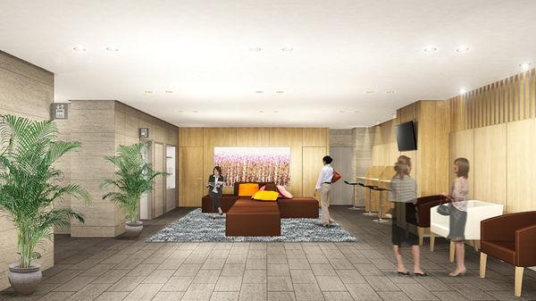 ★スマイルホテルプレミアム札幌すすきの_ロビーイメージ