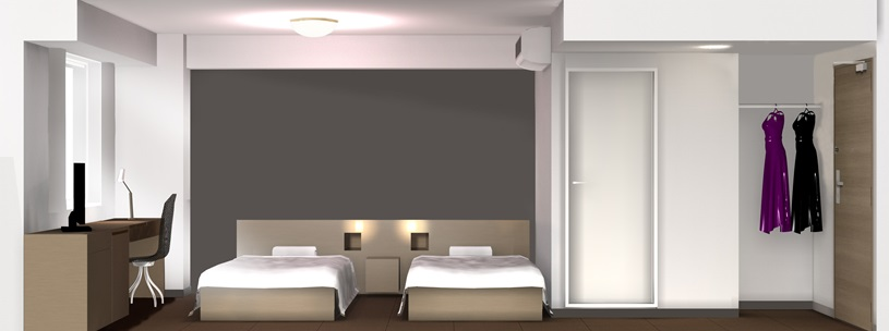 ★スマイルホテルプレミアム札幌すすきの_お部屋イメージ
