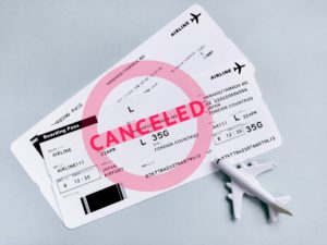 【往復航空券付き】国内ツアーのキャンセルについて