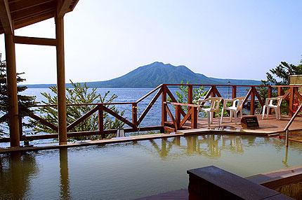 ★丸駒温泉旅館_露天風呂