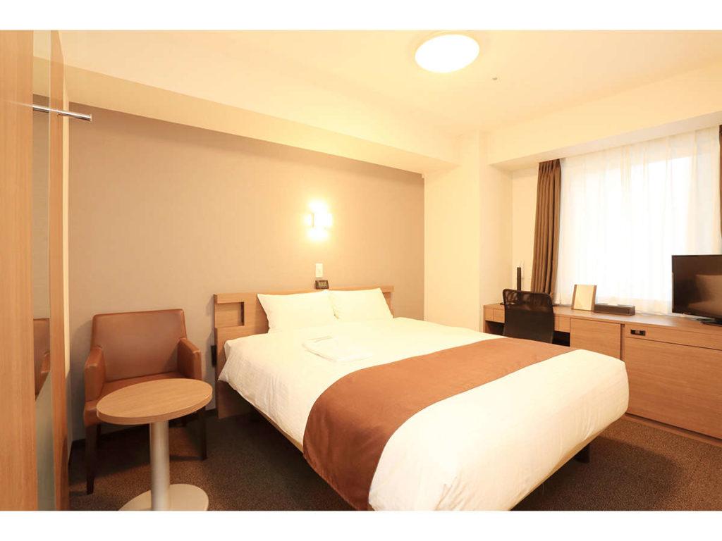 ★スマイルホテルプレミアム札幌すすきの_ダブルイメージ