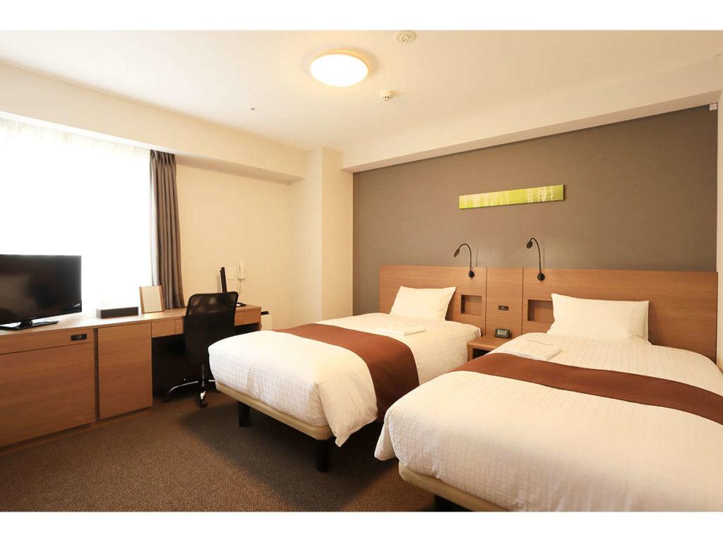★スマイルホテルプレミアム札幌すすきの_ツインイメージ