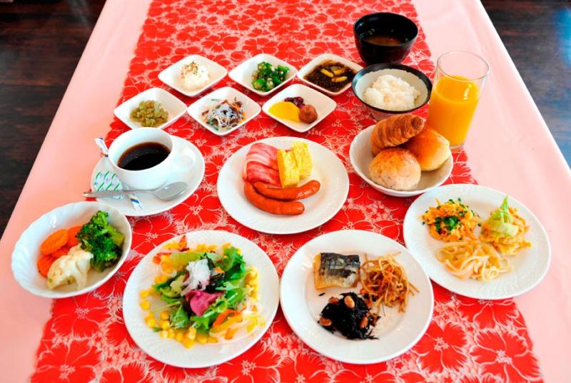 ★ホテルパームロイヤルNAHA国際通り_朝食イメージ