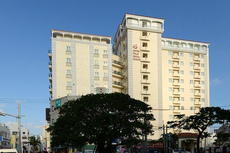 ★ホテルパームロイヤルNAHA国際通り_外観