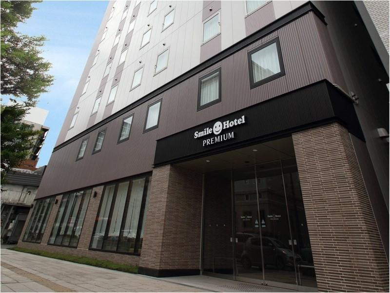 ★スマイルホテルプレミアム札幌すすきの_外観