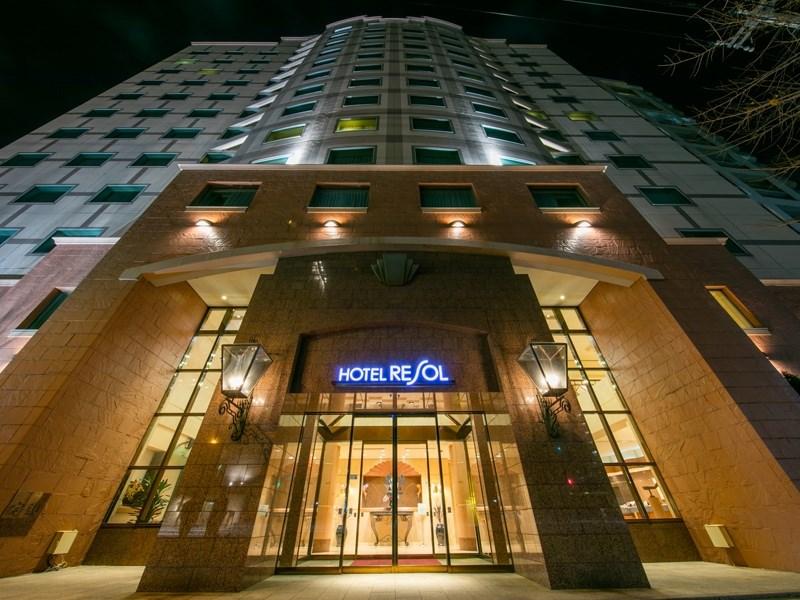 ★ホテルリソル札幌中島公園_外観
