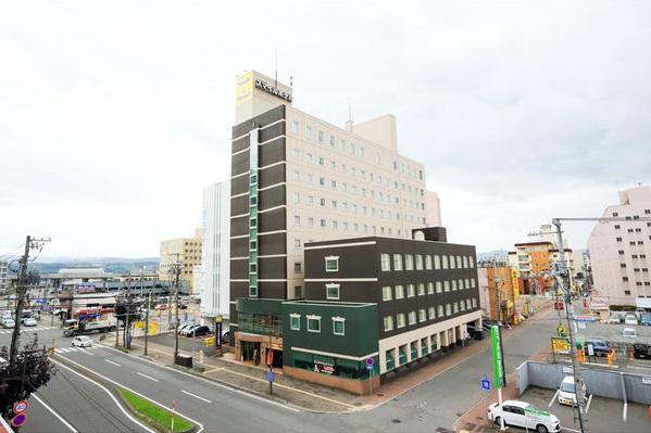 ★スマイルホテル旭川_外観