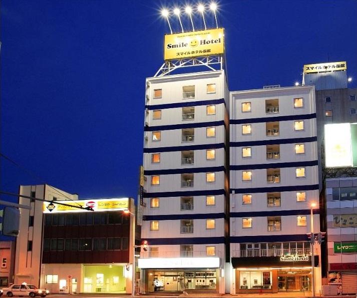 ★スマイルホテル函館_外観