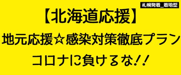 ◇着地型◇地元応援!感染対策徹底プラン【道民限定★コロナに負けるな!】